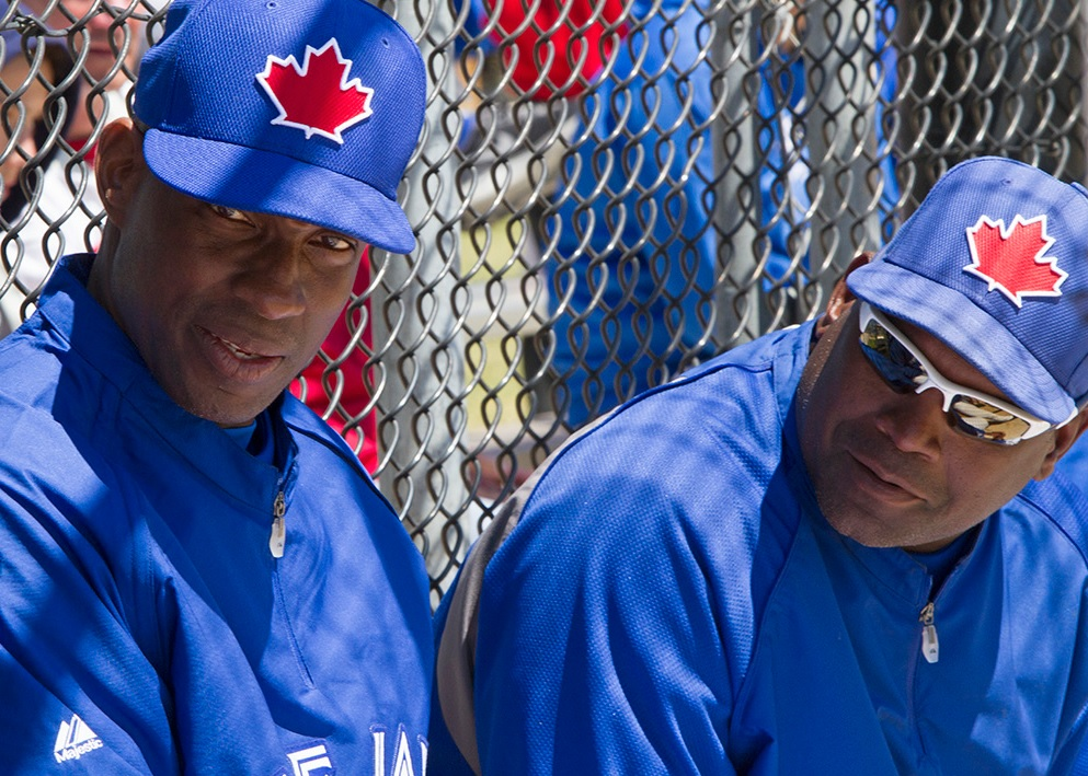 Fred McGriff and Tim Raines