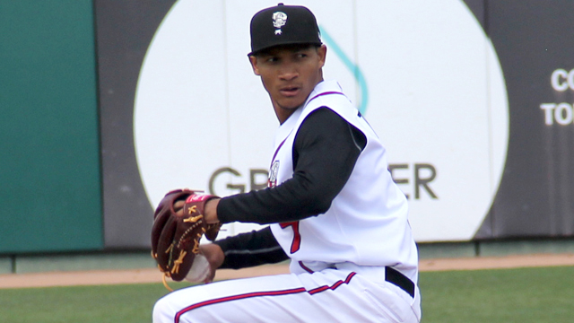 Alberto Tirado of the Lansing Lugnuts