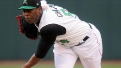 Lugnuts Face Aroldis Chapman in Rehab Start