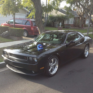 Chase De Jong's dream car. His Dodge Challenger. (chasedejong34/Instagram)