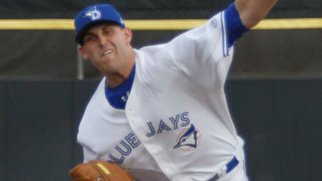 Matt Boyd is currently with the Dunedin Blue Jays (Advanced A) (Jim Goins Photography)