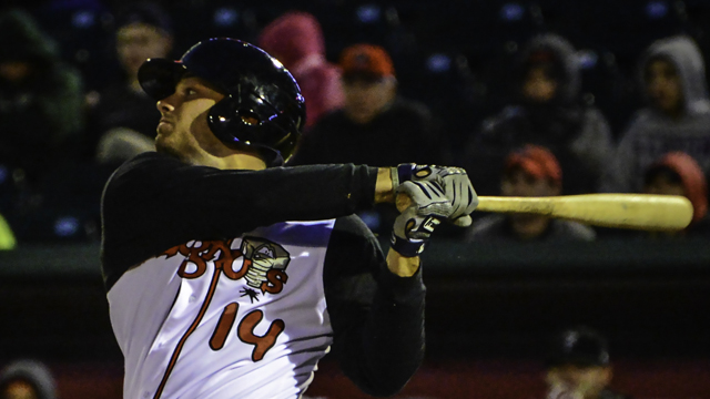 Ryan McBroom's 38 doubles and 11 home runs led him to Midwest League MVP honors. (MiLB.com)