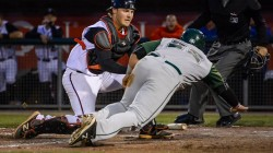 Ryan Hissey Stands Out As Solid Catcher