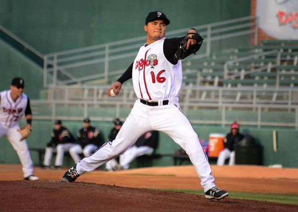 RHP Francisco Rios dominated in the Midwest League with a 2.10 ERA in April. (Kyle Castle)