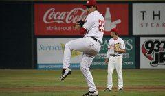 RHP Geno Encina is Reliable Out of the Bullpen