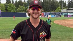 Brayden Bouchey Enjoyed Pitching in Vancouver