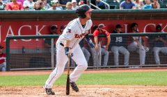 David Jacob Developing Well at First Base