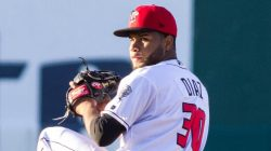 Yennsy Diaz Putting Up Big Numbers in Lansing