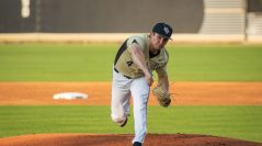 RHP Cre Finfrock Solid Out of the Bullpen
