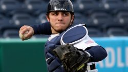 Catcher Ryan Sloniger Reliable Behind the Plate